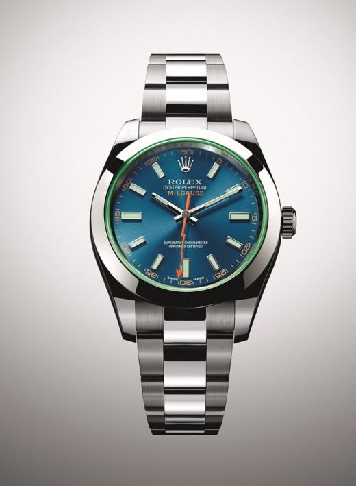 Rolex Milgauss Z Blue 116400 GV (2)